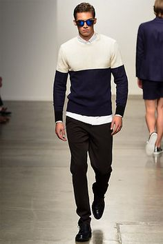 Ovadia & Sons presented its Spring/Summer 2015 collection during New York Fashion Week. To kool for school.....
