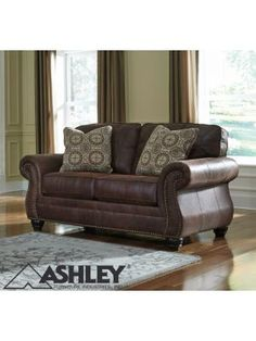 Shop for Breville Espresso Loveseat starting at at our furniture store located at 5309 Marlton Pike, Pennsauken, NJ 08109 Deep Couch, Old Sofa, Sectional Sofa, Couches, Nailhead Trim, Toss Pillows, Sofa Covers, Distressed Leather, Leather Sofa