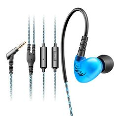 Sport Earphone Running Headphone In Ear Mobile Wired Headset with Microphone Original Brand Electronics MP3 earhook Cosonic W1