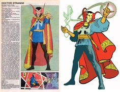 The Official Handbook to the Marvel Universe - REDUX Edition: DR.STRANGE by Michel Fiffe