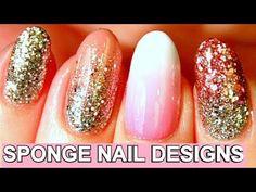 4 Simple Nail Designs Using A Sponge