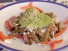 Ensalada de nopal - Cocina Mexicana - Recetas de Comida Mexicana