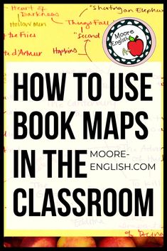 Book maps are a great visualizing tool teachers can use as part of brainstorming, drafting, or teaching the revision process. Book mapping helps students work on making text connections, synthesis level thinking, and thinking metacognitively. Book maps are also good back to school tools or first day activities. This is great for high school language arts classes or secondary English teachers.