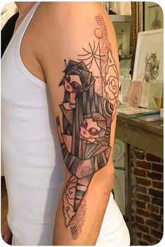 Noon tattoo