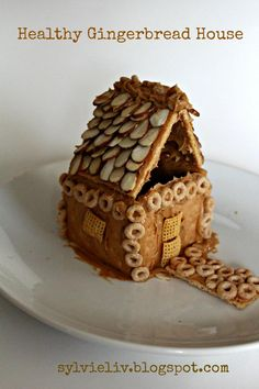 """Ummm... Healthy """"gingerbread"""" house - YES!!"""