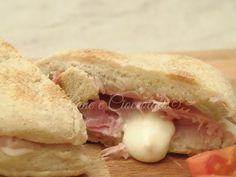 Panini al Prosciutto e Fontina cottura in padella | Pane e Cioccolato