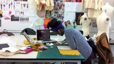 fashion design studio...I LOVE THIS