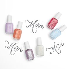 inspired by sweet pastels and sugar confections of paris' most opulent cafes is essie's summer 2017 collection. these super sweet nail polish colors are chic, bright, and romantic. from soft pastels to playful metallic nail colors, essie summer 2017 collection will have you begging to indulge in a killer mani. red candy passion, pastel parisian blue, unforgettable lilac macaron, sparkling apricot marmalade, lavender pink foil, iridescent sugar white