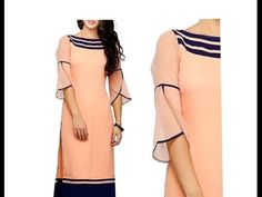 Full Length PETAL | TULIP Sleeve for Kurti | Kameez | Dress| DIY - 2 - YouTube