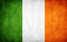 Flag of Ireland: Stands for unity between the religions of the country. Orange for Irish Protestants, Green for Irish Catholic Nationalists, and White for Unity.