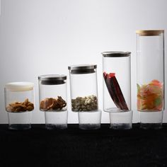 Bulk borosilicate glass food jar wholesale