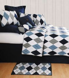 Is wondering how to find more kids bedding ideas that are not themed.