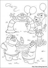 Monsters University coloring pages on Coloring-Book.info\\ My kids are enjoying these coloring pages.