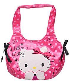 """$9.99 Hello Kitty """"Satin Dot"""" Mini Purse  From Hello Kitty   Get it here: http://astore.amazon.com/ffiilliipp-20/detail/B0078VXFX8/190-6570425-4939456"""