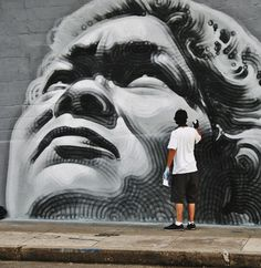 Vandalog – A Street Art Blog » El Mac in Cuba with Primary Flight  --I love the shading technique that this artist used :)