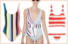 Your Guide to the Hottest Swimsuit Trends of 2016 - Bold Stripes  - from InStyle.com