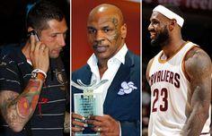 Marco, Tyson, James - JUAN MEDINA/Newscom/Reuters; ERIC GAILLARD/Newscom/Reuters; NBAE/Getty Images