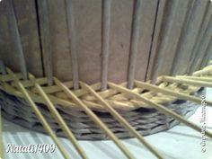 minta - Мастер-класс Поделка изделие Плетение Рыбьи косточки Бумага газетная Трубочки бумажные фото 8 - minta