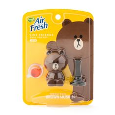 Line Friends Characters Home Car Vent Clip Air Freshener Musk Scent Brown #Homez