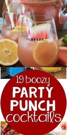 Spiked Punch Recipes, Party Punch Recipes, Gin Punch Recipe Easy, Jungle Juice, Party Drinks Alcohol, Alcoholic Drinks, Alcoholic Punch Recipes Vodka, Easy Vodka Drinks, Beverages
