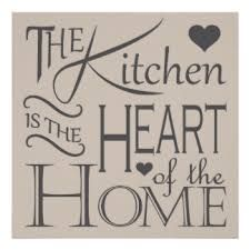 Risultati immagini per kitchen is the heart of the home