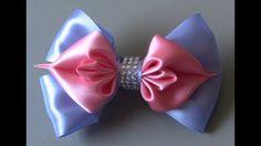 magic bow ribbon - Laço magico de fita - DIY