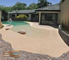 Best ideas for yard ideas pool grass 52 Best ideas for yard ideas pool grass The post Best ideas for yard ideas pool grass & Pool ideen appeared first on Natural swimming pools . Beach Entry Pool, Backyard Beach, Backyard Pool Designs, Small Backyard Pools, Small Pools, Swimming Pools Backyard, Swimming Pool Designs, Pool Landscaping, Outdoor Pool