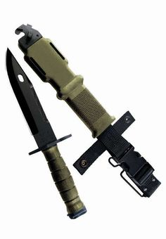 490 M9 Bayonet And Scabbard