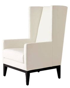 "Given its clean, modern look and apartment-size tall—this is a ""young generation's wing chair,"" says Nanjoo Joung. Small Accent Chairs, Accent Chairs For Living Room, Reading Nook Chair, Dining Chair Makeover, Round Chair, Wing Chair, Swinging Chair, Chairs For Sale, Cool Chairs"