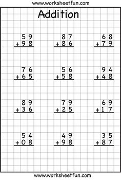 21 Printable Math Worksheets 5 Free Math Worksheets Third Grade 3 Addition Add 3 3 Digit Numbers In Columns fdb The youngsters can enjoy Number Worksheets, Math Worksheets, Alphabet Worksheets. Subtraction With Regrouping Worksheets, First Grade Math Worksheets, Addition And Subtraction Worksheets, Printable Math Worksheets, Number Worksheets, Alphabet Worksheets, Free Printable, Math Sheets, Grade 3