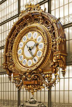 Clock at the Musee D'Orsey, Paris