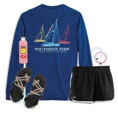 """""""Watching Friends"""" by secfashion13 ❤ liked on Polyvore featuring Under Armour, Chaco, women's clothing, women, female, woman, misses and juniors"""