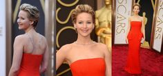 Al di là del fatto che Jennifer Lawrence si è presentata agli Oscar con una collana di grande tendenza adagiata sulla sua schiena, la ragazza rientra perfettamente all'interno dei trend capelli per la primavera-estate 2014: capello corto apparentemente spettinato e voluminoso con stripes decolorate sulle lunghezze. Se poi aggiungiamo al tutto un abito rosso a tulipano di Dior allora il risultato è semplicemente magnifico! IL VOTO: 9 L'AGGETTIVO: Raffinata