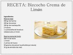 Bizcocho de Crema de Limon