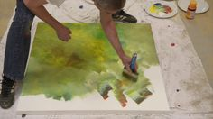 Making of 'Expression 0118' by Tekahem. More information at http://www.tekahem.com/fr/tableaux/443-expression-0118.html #Tekahem, #Expression, #art, #makingof, #painting, #peinture