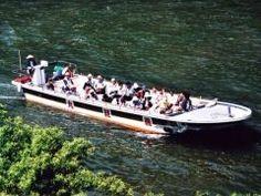 山形県を流れる最上川で優雅に川下りはいかがでしょうか 高屋または白糸の滝ドライブインが乗船場となっていてわき水コーヒーや縁結び神社仙人堂が話題の仙人堂への上陸もコースに含まれますよ おすすめのアクティビティーです tags[山形県]