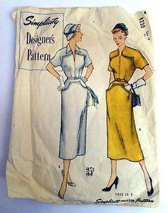 Vintage Vogue Sewing Pattern 8230