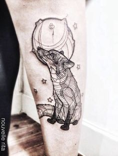 Fox little prince tattoo omg this is so amazing