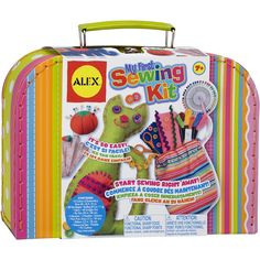 ALEX Toys Craft My First Sewing Kit         >>> Click image for more details. (This is an affiliate link) #ToysGames