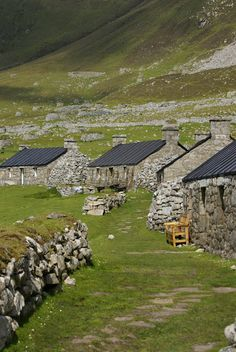 St Kilda blackhouses.I want to go see this place one day. Please check out my website Thanks.  www.photopix.co.nz