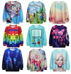 Clothes winter, a delicious colors.