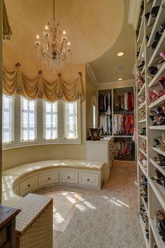 closet and dressing room ♥