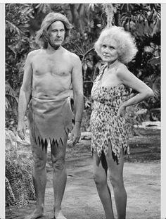 Betty White & Jonny Carson hahaha