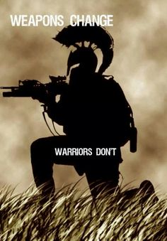Warriors don't change.