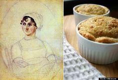 Jane Austen: Brown Butter Bread Pudding Tarts #Austenism #Funinthekitchen
