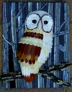 Barney by Susan Turlington Mosaics, via Flickr