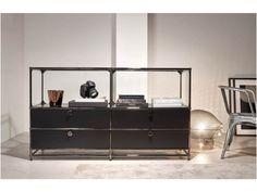 Neu ! Buffet, Chrome, Cabinet, Storage, Design, Furniture, Home Decor, Table Desk, Clothes Stand