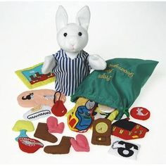 Goodnight Moon Story Props. I would have loved to have this when my daughters were young.