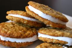 Homemade Oatmeal Cream Pies!