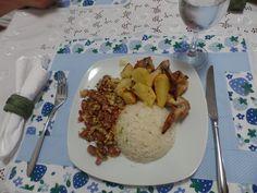 Cozinha, jantar e pate-papo :)